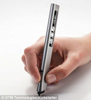 Phree pen lets you write notes on ANY surface and appear on a phone