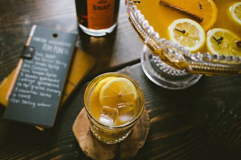 Martha Washington's Rum Punch