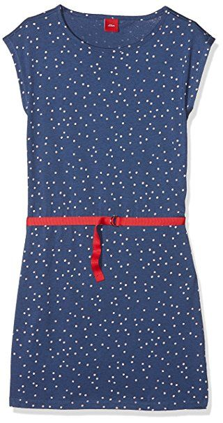 S Oliver Madchen Kleid 73 806 82 2804 Blau Blue Aop 57a1 134 Sommerkleider Madchen Sommer Kleider Kind So Mit Bildern Sommer Kleider Sommer Kleidung Outfit
