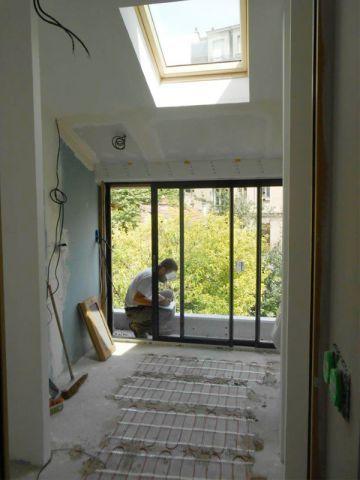 Extension du0027une maison, salon, bureau #extension #agrandissement