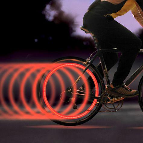 Bike Spokelit From Firebox Com Bike Lights Bicycle Lights Bike