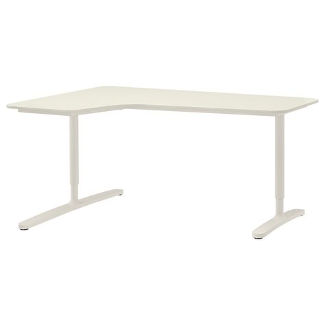 Bekant Corner Desk Left White Ikea Ikea Corner Desk Ikea Bekant