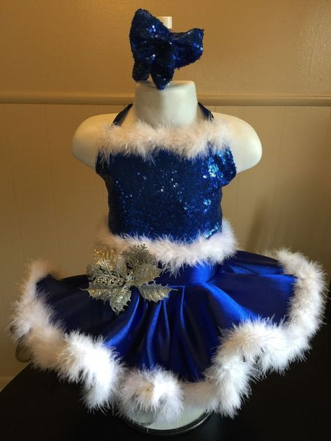 National Pageant Christmas Holiday Casual Wear Dress Size 12 24 Months 2T | eBay