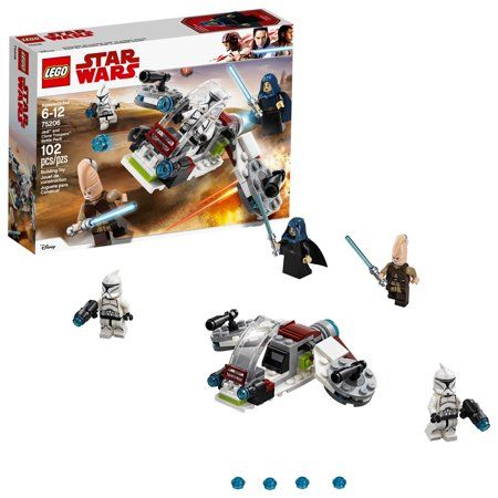 LEGO: Star Wars Jedi /& Clone Troopers Battle Pack 75206 New /& Sealed.
