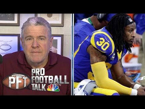 Falcons Should Be Careful With Todd Gurley After Release From Rams Pro Football Talk Nbc Sports Mike Florio And Peter Kin In 2020 Sports Sport Event