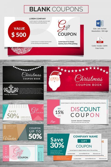 Coupon Voucher Design Template - 26+ Free Word, JPG, PSD, Format - free christmas voucher template