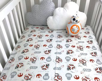 Star Wars Crib Sheet Stars Wars Baby Sheet Star Wars Crib