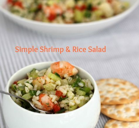 Shrimp and Rice Salad from Mother Would Know