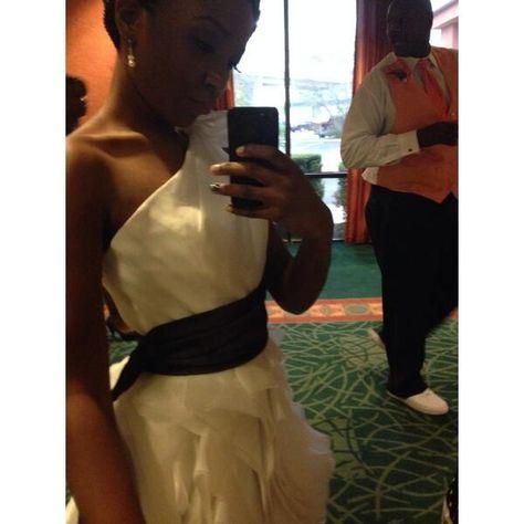 bride selfie