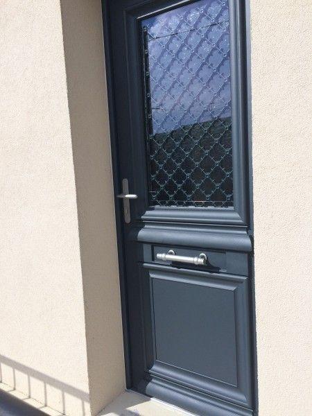 Porte D Entrée Mixte Aluminium Bois Bel M Doors Pinterest - Porte entree alu