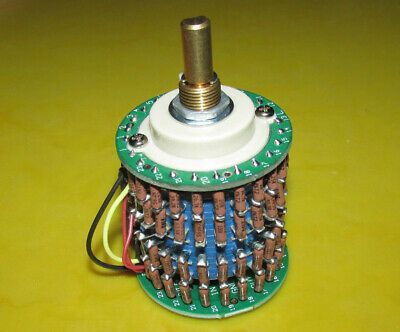 Details About Us Dale 24 Speed 10k 50k 100k 250k 500k Double Connected Potentiometer In 2020 Semiconductors Electrical Equipment Ebay