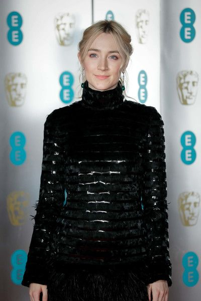 Saoirse Ronan Photos Photos Ee British Academy Film Awards Gala Dinner Red Carpet Arrivals In 2020 British Academy Film Awards Actresses Film Awards