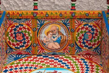 Decorazioni Carretto Siciliano.Disegni Del Carretto Siciliano Da Colorare Risultati Yahoo