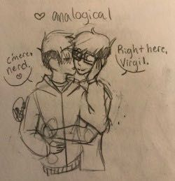 Read Logcality - Birthday Present from the story Sanders Sides smut/fluff by DarkEntityForever (PrettySmuttyIGuess) with reads. Logan Sanders, Thomas Sanders, Thomas And His Friends, Thomas Rhett, Sander Sides, Comic Art, Pastel Punk, Nerd, Fan Art