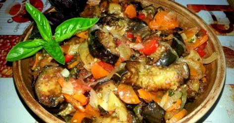 Аджапсандал с говядиной рецепт