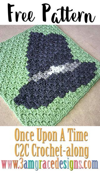 Once Upon A Time C2C CAL - Week 10 - Free Crochet Pattern