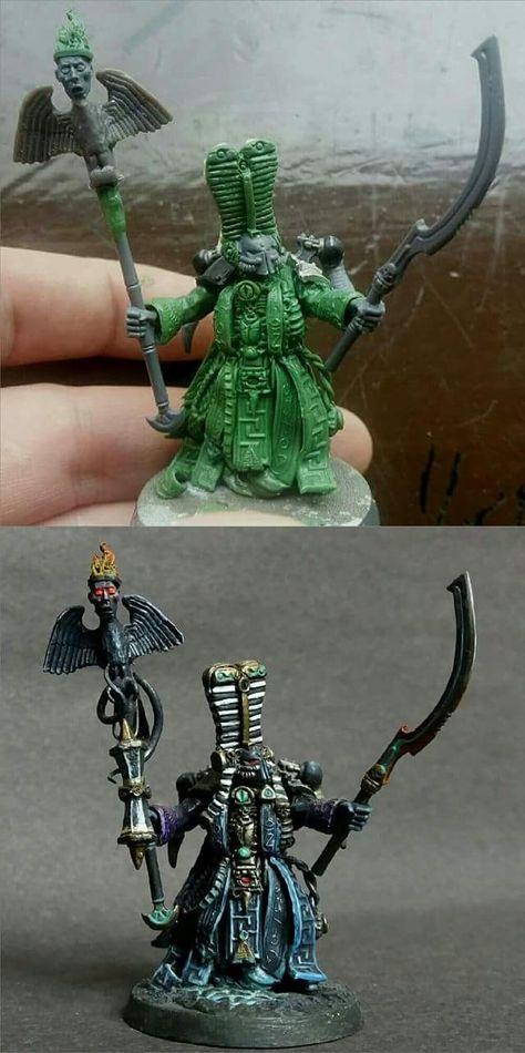 Pin Von Affe Mit Waffe Auf Green Stuff Figur