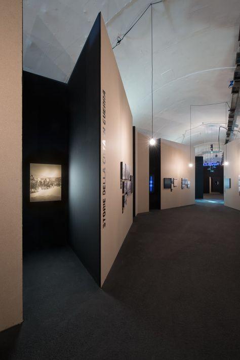 weber+winterle architetti · Allestimento mostra_Città fortezza Trento 1915-1918