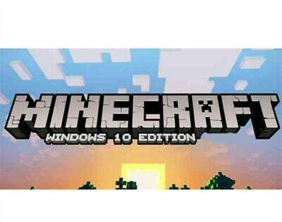 Minecraft Windows 10 Edition Region Free Pc Game Minecraft Game