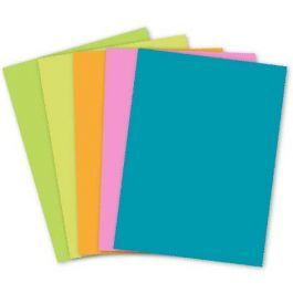 Clearance Mohawk Britehue 8 5 X 11 Paper Assorted Colors Variety 24 60 Text 250 Pk Cardstock Paper Paper Letter Size Paper