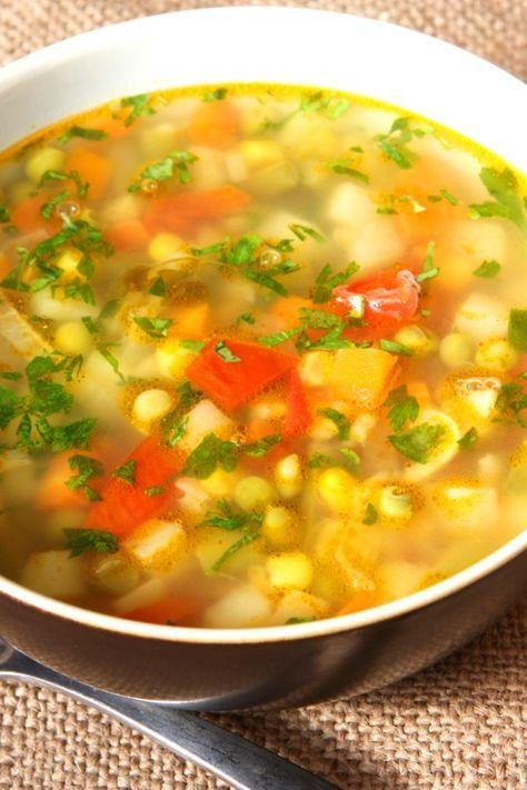 Gemüsesuppe zur Gewichtsreduktion termomix