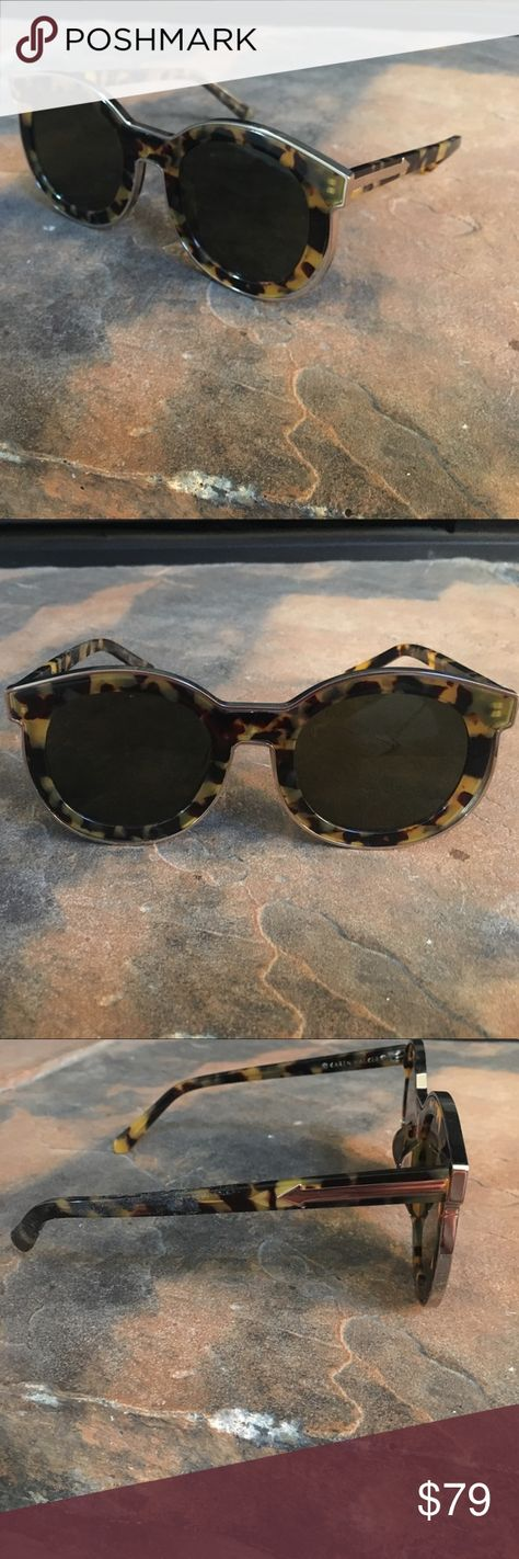 51c5a0320dae Karen Walker Faithful Tinted Cat eye Frame In like new condition! Does not  have original