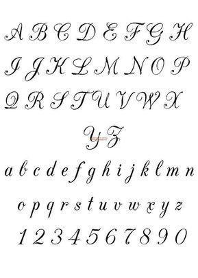 Aplicar Esta Cursiva En Mensajes Y En Escritos Por Favor Lettering Alphabet Lettering Fonts Calligraphy Alphabet