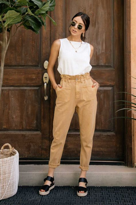 Business Casual Outfits, Trendy Outfits, Spring Outfits, Cute Outfits, Fashion Outfits, Womens Fashion, Beautiful Outfits, Woman Outfits, Basic Outfits