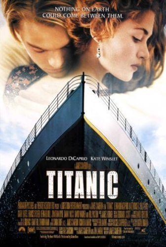 Titanic Movie Poster Leonardo Dicaprio Rare New 24x36 Print Image