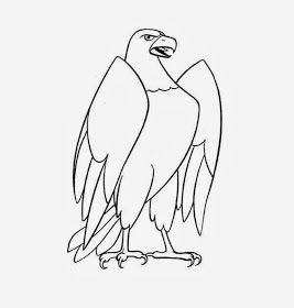 Maestra De Infantil Animales Salvajes Para Colorear En 2020 Aguila Dibujo Aguila Para Dibujar Aguila Real Dibujo