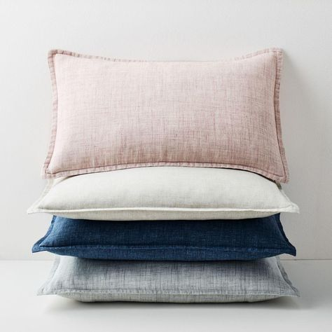 Belgian Flax Linen Pillow Covers in