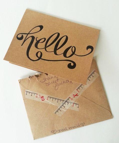 send snail mail - BrassyApple.com
