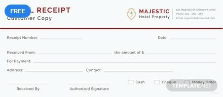 Simple Hotel Receipt Template Free Pdf Google Docs Google Sheets Excel Word Template Net Invoice Format Receipt Template Life Lessons