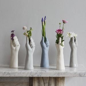 Porcelain Flower Vase, Mother Days Gift, Ceramic Vase, Gifts for Moms