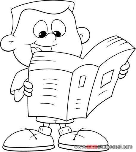 Kitap Kosesi Icin Kitap Okuyan Hayvanlar Ve Cocuklar Boyama Sayfasi Boyama Sayfalari Hayvanlar Kitap Haftasi