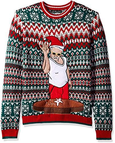 Red Xmas Sweaters Blizzard Bay Womens Ugly Christmas Santa Small
