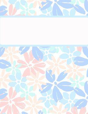 photograph regarding Printable Binder Covers for School titled Binder Go over Templates  binder