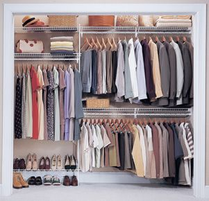 ClosetMaid Wire Shelving U0026 Hanging Systems For Reach In Closets  Www.organisemyhome.com | Closets | Pinterest | Organizing, Organizations  And Closet ...