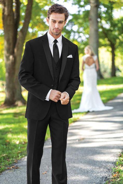 black wedding tux - Google Search