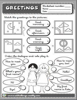 Greetings worksheet teaching english pinterest worksheets greetings worksheet teaching english pinterest worksheets english and school m4hsunfo