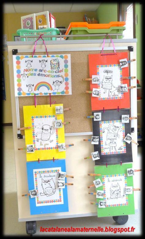 LaCatalane à la maternelle...: L'arc-en-ciel des émotions -  - #des #Emotions #LaCatalane #Larcenciel #maternelle