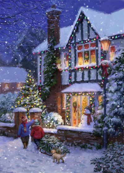 Christmas Cards In New York 2020 Advocate Art   London   Marbella   New York in 2020   Christmas