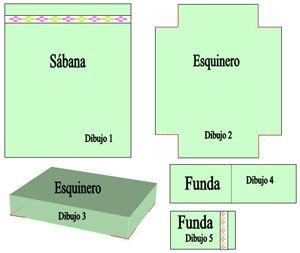 Manualidades para el hogar aprende a hacer un juego de sabanas2
