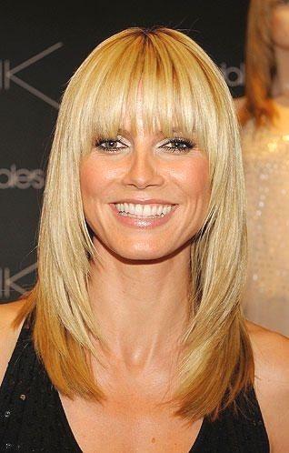 Heidi Klum Ihre Frisuren Im Wandel Frisuren Heidi Wandel Hairbangs Heidi Klum Ihre Frisuren Im Heidi Klum Hair Long Hair Styles Medium Hair Styles