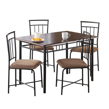 Home Metal Dining Set Dorel Living Dining Furniture Sets