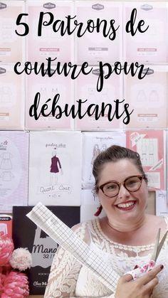 **** 5 patrons couture pour débutantes ET grandes tailles **** – Elodie BLUEBERRY