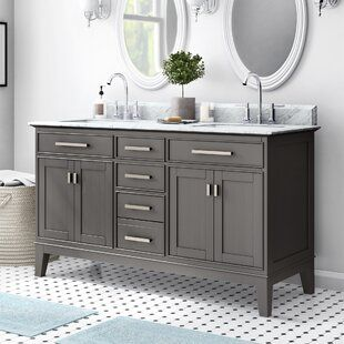 Find The Perfect Double Vanities Wayfair Bathroom Vanity Double Vanity Bathroom Single Bathroom Vanity