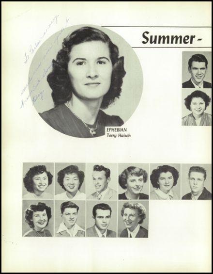 1950 Verdugo Hills High School Yearbook via Classmates.com