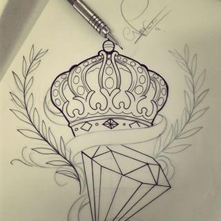 Resultado De Imagem Para Ancora Tattoo Desenho Desenho De Coroas