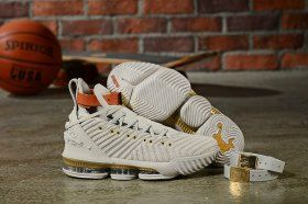 superior quality 54038 d3d5b Nike LeBron 16 Xvi HFR Harlem's Sail/White/Light Bone BQ6583 ...